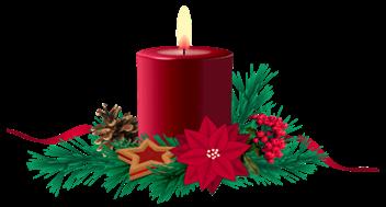 Weihnachtskerze